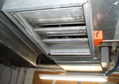 Leaking or improperly adjusted dampers are a frequent source of energy waste and poor operation in a building.